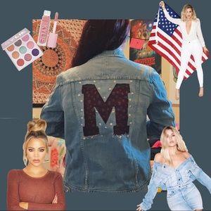 "Good American ""M"" Denim Jacket 💓"
